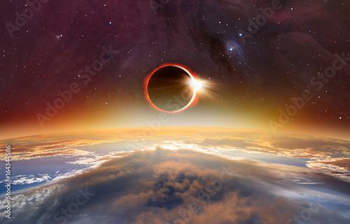 Foto op Plexiglas Nasa Solar Eclipse