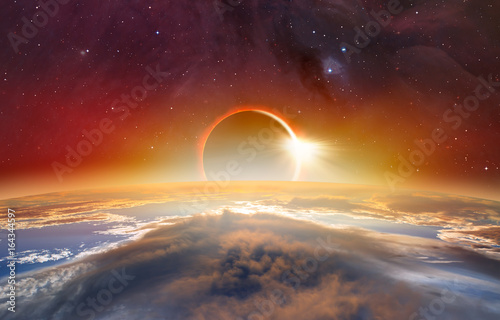 Foto op Canvas Nasa Solar Eclipse