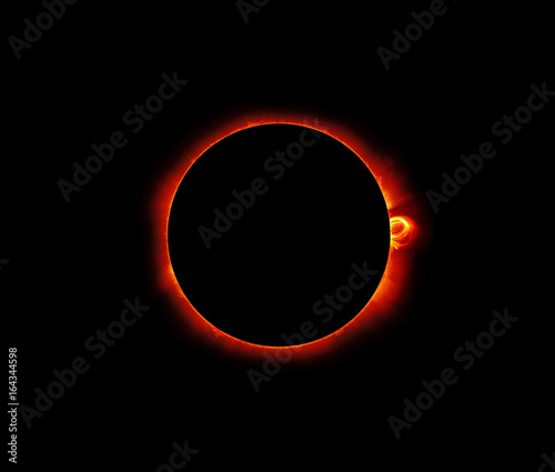 In de dag Nasa Solar Eclipse