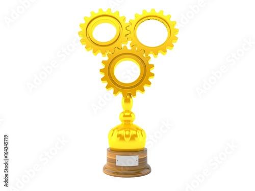 Foto op Canvas Teamwork trophy