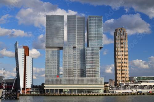 Fotobehang Rotterdam Skyline of Rotterdam