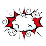 retro burst icon over white background pop art concept vector illustration - 164360708