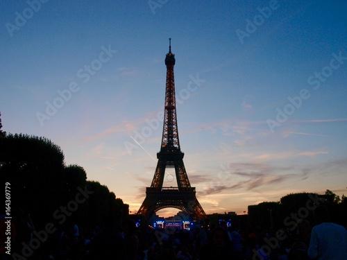 Eiffel Tower in Bastille Day/Champ de Mars,Paris Poster