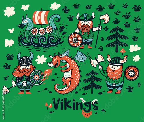 13374dd4f0d Nordic collection with vikings