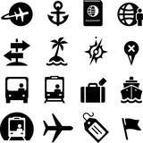 Travel Icons - Black Series