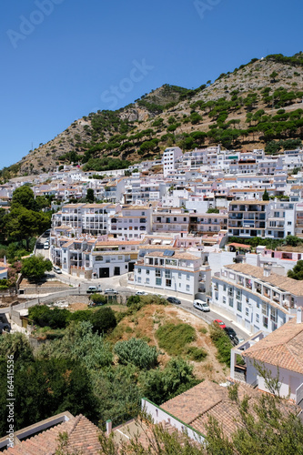 MIJAS, ANDALUCIA/SPAIN - JULY 3 : View from Mijas in Andalucía Spain on July 3, 2017