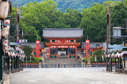 Plexiglas Kyoto 京都 八坂神社 祇園祭