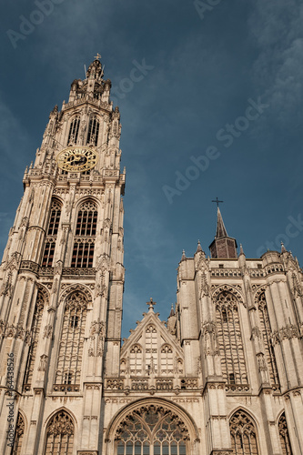 Tower of the Cathedral of Our Lady (Onze-Lieve-Vrouwekathedraal).