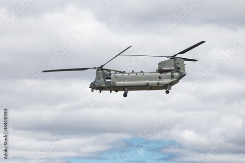 The Boeing CH-47 Chinook Plakat