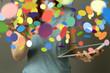 Quadro konfetti
