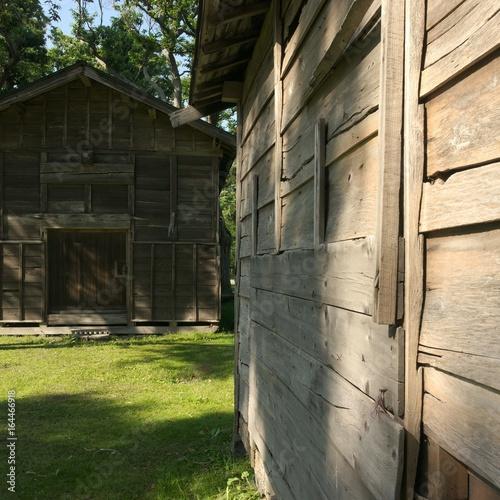 日本の古民家 倉庫