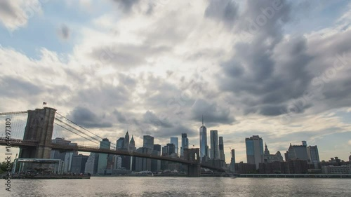 Clouds over New York