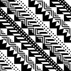 Ethnic Tribal Seamless Pattern. Geometric Ornamental illustration. Decorative Stylish Texture