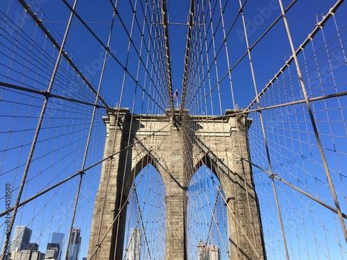 The Brooklyn Bridge ブルックリン橋
