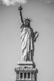 Famous iconic landmark - The Statue of Liberty in New York