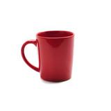 red mug isolated on white background - 164525338