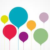 ballons colorés - 164544561
