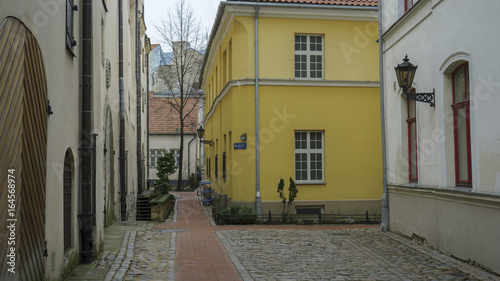Europe Latvia Riga Tourist places Vacations cityscape Streets