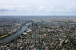 Horizontal view of urban element in tokyo city