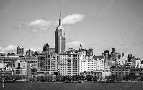 Skyline of Midtown Manhattan with Empire State Building