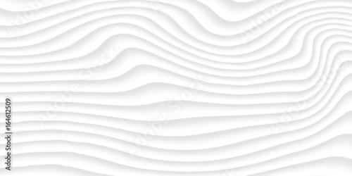 White texture. gray abstract pattern seamless. wave wavy nature geometric modern. - 164612509