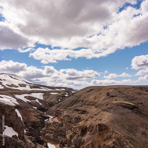 Iceland Mountins