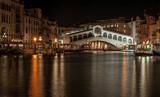 Ponte di Rialto by night