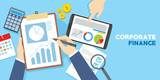 corporate financial management target - 164644929