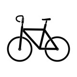 isolated cute bicycle icon vector illustration graphic design