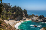 Fototapety McWay Falls, Big Sur, Monterey County, CA, United States
