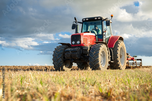 Tracteur Agricole Poster
