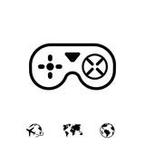joystick icon stock ...