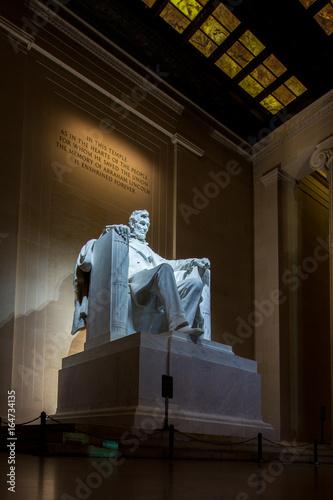 Mémorial Lincoln Poster