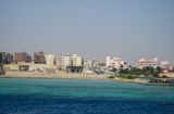 A beautiful view of Hurghada on the Red Sea. - 164747352