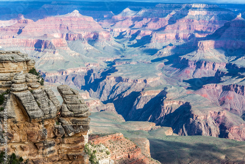 Poster Lichtroze Beautiful Grand Canyon Landscape