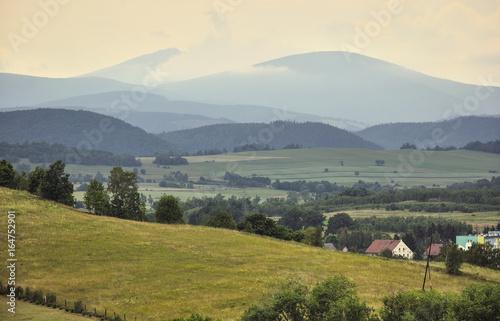 Górski krajobraz Karkonoszy - 164752901