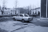 Old car in Moscow