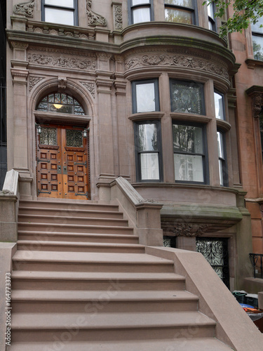 New York brownstone apartment buildings