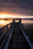 Sunrise pier NZ 2