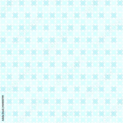 Cyan abstract pattern. Seamless vector
