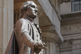 George Washington statue in front of Federal Hall, New York