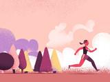 Jogging all'aria aperta