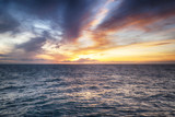sunset over sea - 164825599