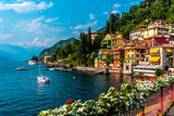 Varenna, small town on lake Como, Italy - 164828158