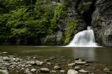 Scenic Waterfall - Mine Kill Falls - Catskill Mountains - New York