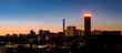 Johannesburg night cityscape