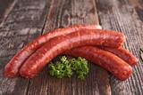 raw sausage - 164852769