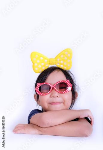fashionable little girl poster affiche acheterle sur