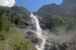 Wasserfall, Engstligen bei Adelboden, Schweiz - 164860751