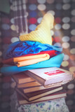 Vintage and old fashioned books - 164866350
